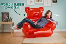 Dorm Room Bean Bag Chairs - perfect for a 1990 u0027s dorm room giant gummi bear inflatable lounge