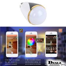Rgb Led Light Bulb With Remote by Bluetooth Smart Speaker U0026 Rgb Light Bulb Intelligent Music Player
