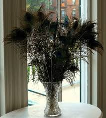 Feather Vase Centerpieces by Cheap Tall Wedding Centerpieces And Vases