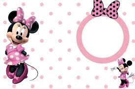 cute minnie mouse invitation template invitations