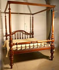 colonial raj four poster bed anglo indian carved four poster