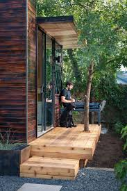 92 square foot backyard office by sett studio backyard office