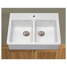 domsjo double bowl sink domsjo double bowl sink white zoomly