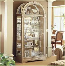 curio cabinet 680501 howard miller traditional cherry curio