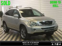 lexus used uk used lexus rx 400h 3 3 sr 5dr cvt auto 2 local owners for sale in