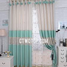 White And Teal Curtains Teal And White Curtains Eulanguages Net