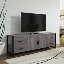 Black Console Table With Storage Living Best Images About Tv Stand Modern Buffets And Also