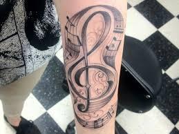 26 upbeat music note tattoo designs slodive tattoona