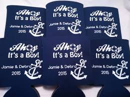 baby shower koozies baby shower koozie or can cooler favors odysseycustom