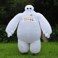 Blow Halloween Costume Big Hero 6 Inflatable Baymax Costumes Blow Halloween