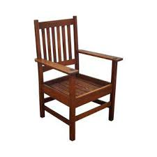 Oak Armchair Vintage U0026 Used Mission Accent Chairs Chairish