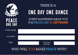 one day one dance peace one day