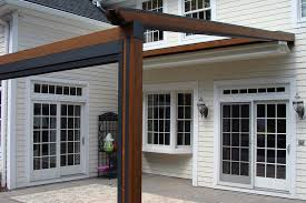 retractable awning pergola exterior bliss