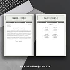Microsoft Office Resume Template Word Resume Template The Nelson Resume Ms Office Word For Mac