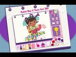 doc mcstuffins color play disney junior animated coloring book