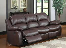 Leather Sofa Atlanta 3 Seater Recliner Leather Sofa U2013 Stjames Me