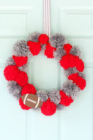 Homemade Pom Pom Decorations 10 Diy Football Crafts U0026 Decor For Game Day Resin Crafts
