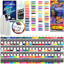 all 80 colors illustration airbrush paint set 2 oz bottles