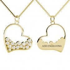 Gold Engraved Necklace Engravable Necklaces Sterling Silver Engravable Necklaces 30 50