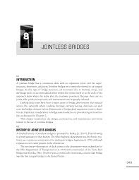 8 jointless bridges design guide for bridges for service life