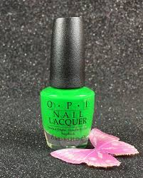 opi nail lacquer green come true nl bc4 tru neon collection summer