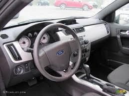 Focus 2008 Charcoal Black Interior 2008 Ford Focus Se Coupe Photo 38656342