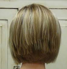 pictures of back of hair short bobs with bangs stacked bob fine hair also blonde haircut back view bobs 10