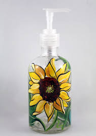 themed soap dispenser sunflower kitchen soap dispenser sunflower themed kitchen