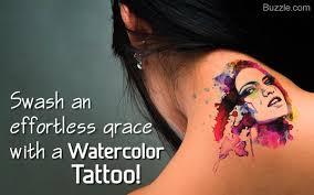 12 beautiful watercolor tattoos worth getting
