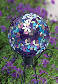 Copper Gazing Ball Evergreen Flag U0026 Garden Mosaic Gazing Globe Gazing Ball