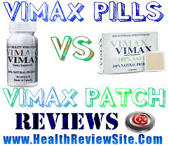 compare vimax patch vs vimax pills results which works best