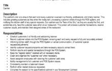 Cashier Job Resume by Retail Resume Template Job 2016 Recentresumes Com
