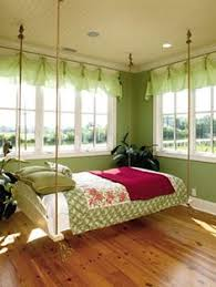How To Make A Hanging Bed Frame Hanging Bed How To Bolts For The Home Pinterest Hanging Beds