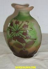 Galle Vase Emile Galle Art Glass Ebay