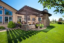 Backyard Covered Patio Ideas Covered Patio Ideas For Backyard Exterior Traditional With Brick