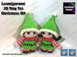 rainbow loom elf rainbow loom loomigurumi elf loomigurumi elf