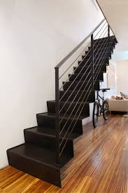 Duplex Stairs Design Packing Duplex Contemporary Staircase New York By