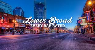 top bars in nashville tn we rated every bar on lower broad lower broadway bars rated