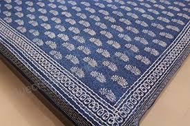 bed sheet fabric cotton block print bedspreads indigo dye fabric bed sheets king