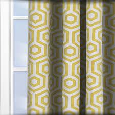 Saffron Curtains Prestigious Textiles Hex Saffron Curtain Custom Curtains