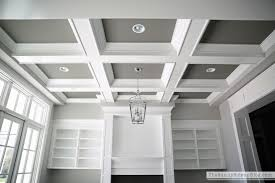 shallow coffered ceiling free interior design coffered