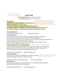 entry level sales resume sales résumé teardown less is more aftercollege