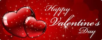 happy valentines day banner valentines day