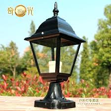 how to install outdoor light post how to install an outdoor l post outdoor light post with outlet
