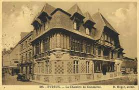 chambre du commerce evreux évreux en 1889