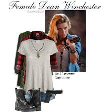 Supernatural Halloween Costumes Female Dean Winchester Halloween Costume Polyvore