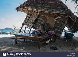 phuket rawai beach thailand 14th feb 2016 a sea gypsies house