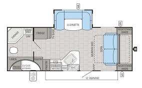 Rear Kitchen Rv Floor Plans by 2016 White Hawk Travel Trailer Floorplans U0026 Prices Jayco Inc