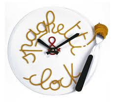 horloge cuisine originale étourdissant horloge de cuisine originale et horloge murale