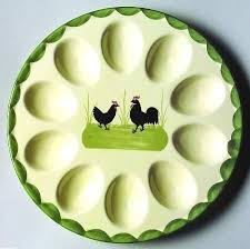 egg plate 121 best deviled egg plates images on boiled eggs